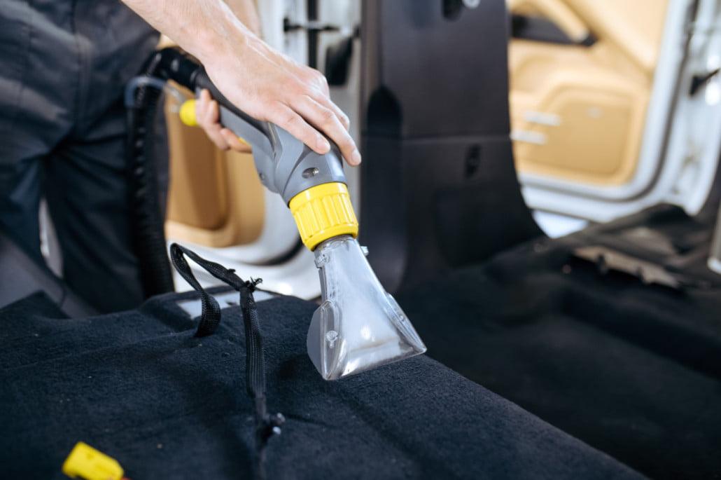 reinigen van auto's